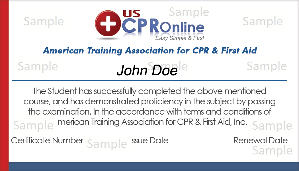 how to get a cpr and first aid certificate online